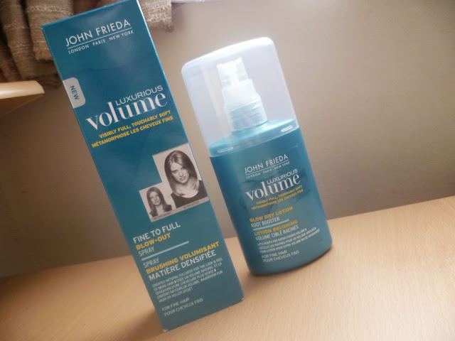 John Frieda Luxurious Volume Fine To Full Blow Out Spray & Blow Dry Lotion Root Booster
