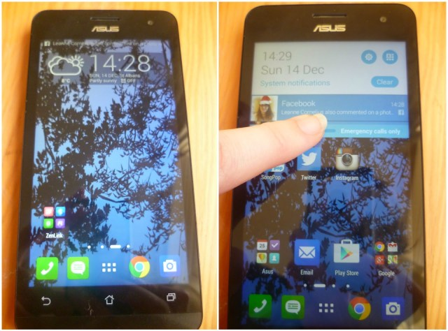 Asus Zenphone 5LTE - perfect choice for those on a budget with an Android operating system and everything you could need.