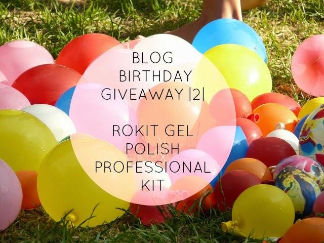 Blog Birthday Giveaway | 2 | Rokit Gel Polish Professional Kit