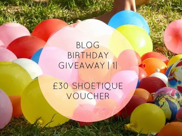 Blog Birthday Giveaway | 1 | £30 Shoetique Voucher