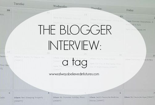 the blogger interview