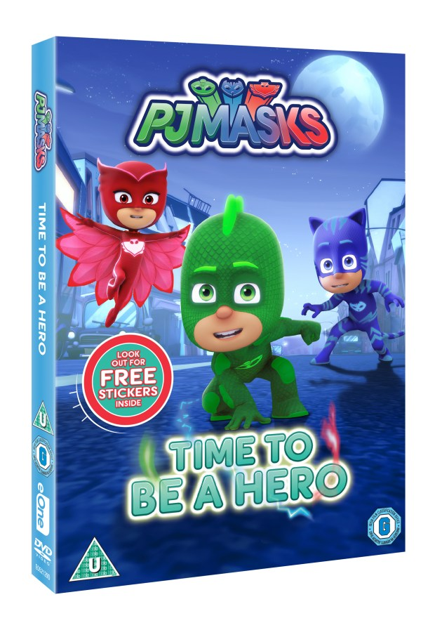 PJ Masks DVD cover