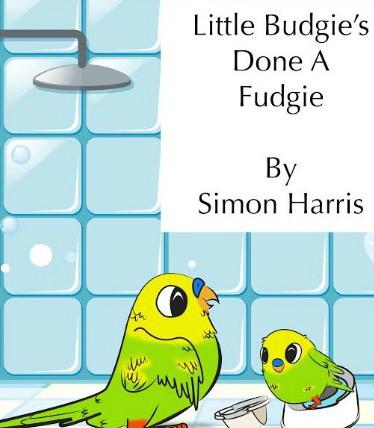 WIN   Little Budgie's Done A Fudgie Hardback Book