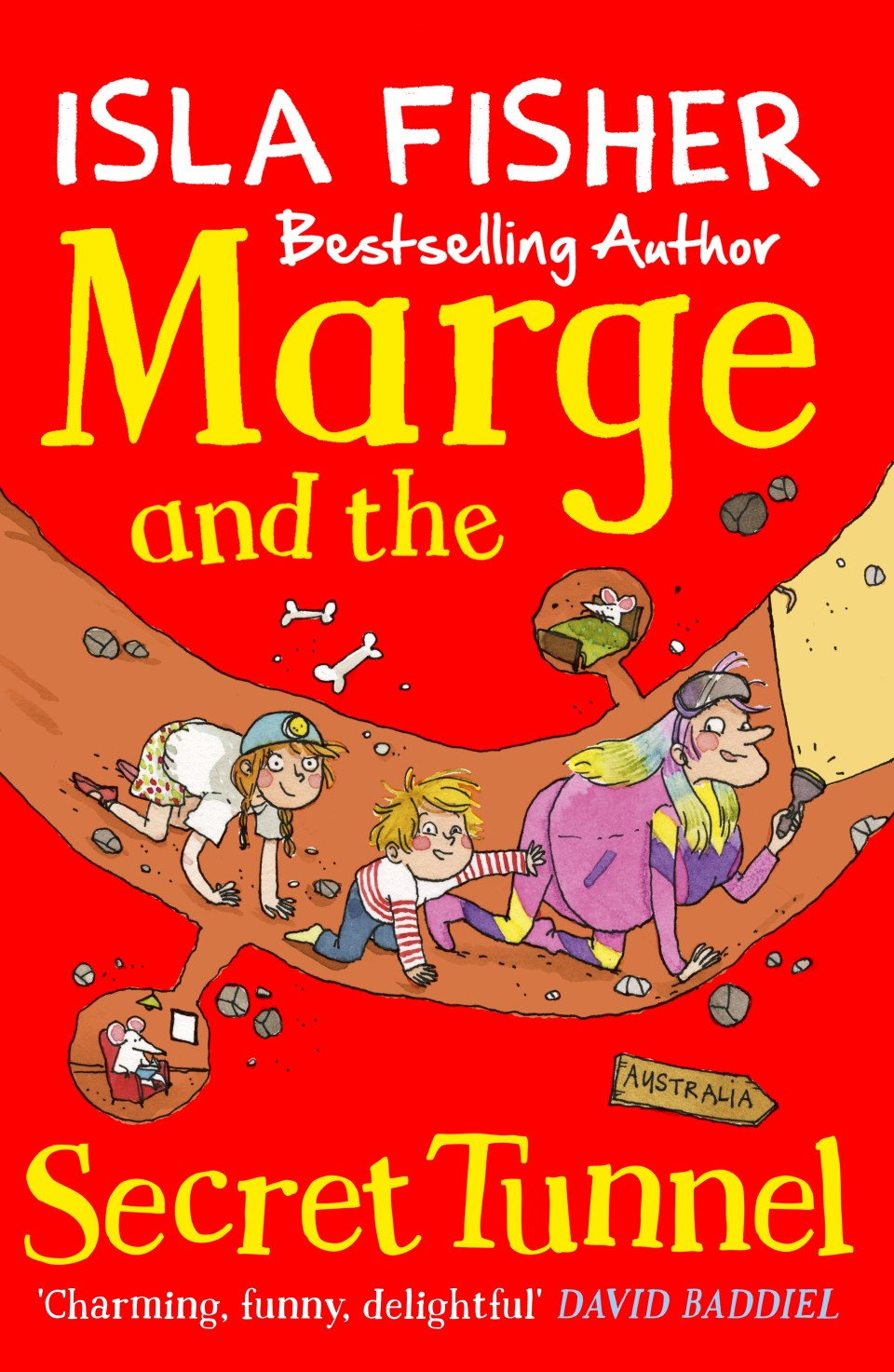 Marge and The Secret Tunnel by Isla Fisher | Review & Win 1 of 5 complete Marge In Charge book sets