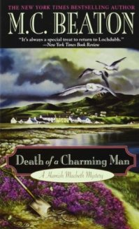 AudioBook Review: Death of a Charming Man: Hamish Macbeth #10 by M.C. Beaton