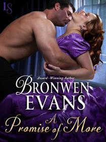 A Promise of More (The Disgraced Lords #2) by Bronwen Evans with Giveaway