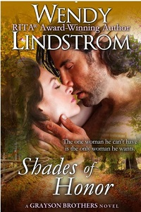 AudioBook Review Shades of Honor: Grayson Brothers #1 by Wendy Lindstrom