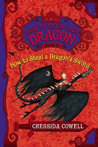 AudioBook Review How to Steal a Dragon's Sword: How to Train Your Dragon #9 by Cressida Cowell