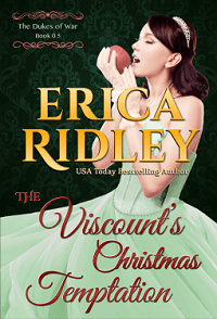 The Viscount's Christmas Temptation: Dukes of War #0.5 by Erica Ridley