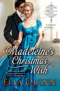 Madeleine's Christmas Wish: Marriage Game # 6  by Ella Quinn