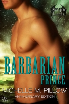 AudioBook Review The Barbarian Prince: Dragon Lords #1 by Michelle M. Pillow