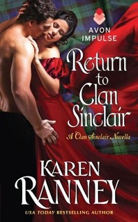 Return to Clan Sinclair: Clan Sinclair #3.5 by Karen Ranney with Excerpt and Giveaway