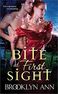 Bite at First Sight: Scandals with Bite #3 by Brooklyn Ann with Excerpt and Giveaway