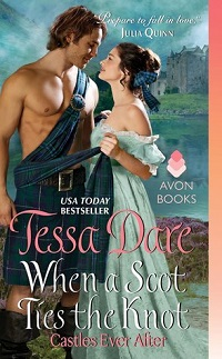 When a Scot Ties the Knot: Castles Ever After #3 by Tessa Dare with Excerpt and Giveaway