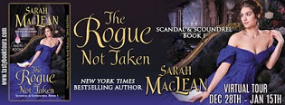 The Rogue Not Taken: Scandal & Scoundrel #1 by Sarah MacLean with Excerpt and Giveaway
