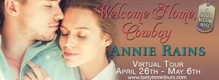 Welcome Home, Cowboy: Hero's Welcome #2 by Annie Rains with Giveaway