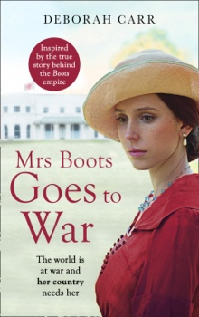 Mrs. Boots Goes to War: Mrs. Boots #3 by Deborah Carr