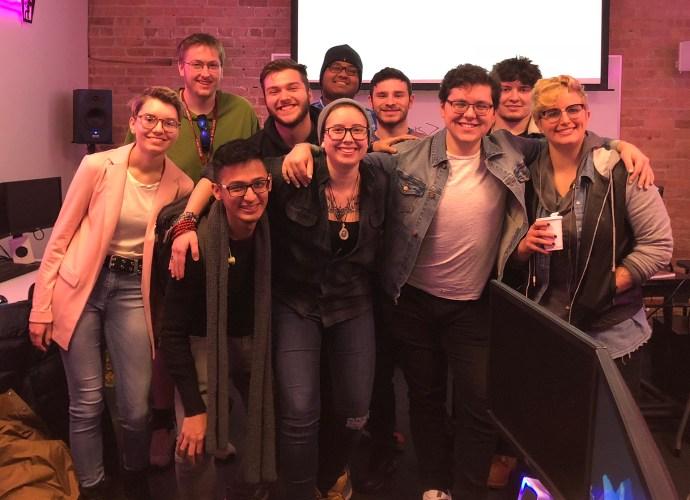 IAM Alumni Becca Hallstedt talk 'Getting a Job' for programming club Hackerjacks