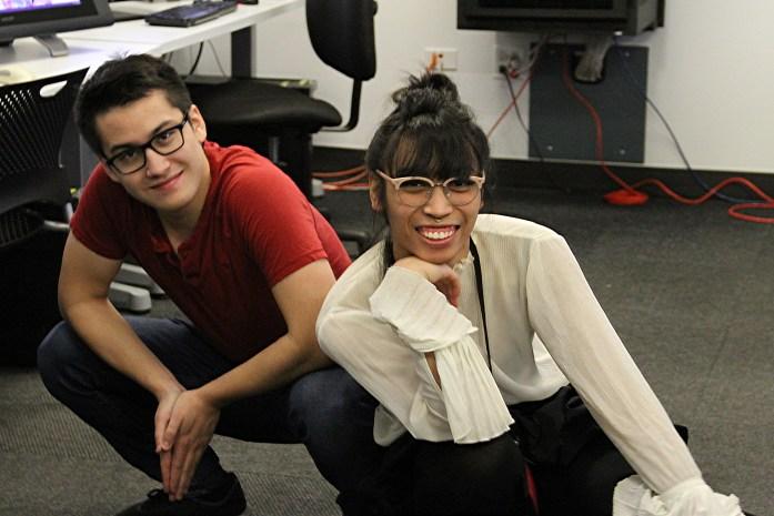 IAM animation students