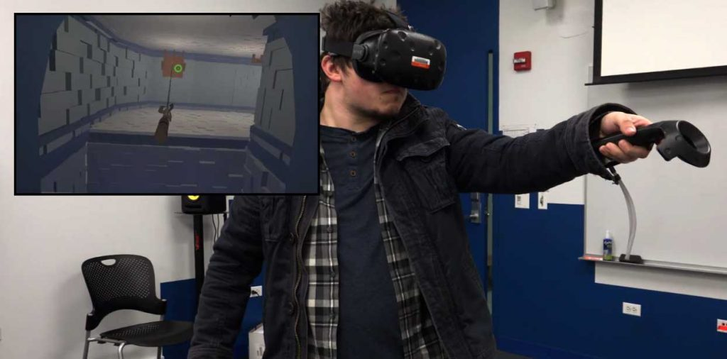 Hooked VR Game created by IAM students