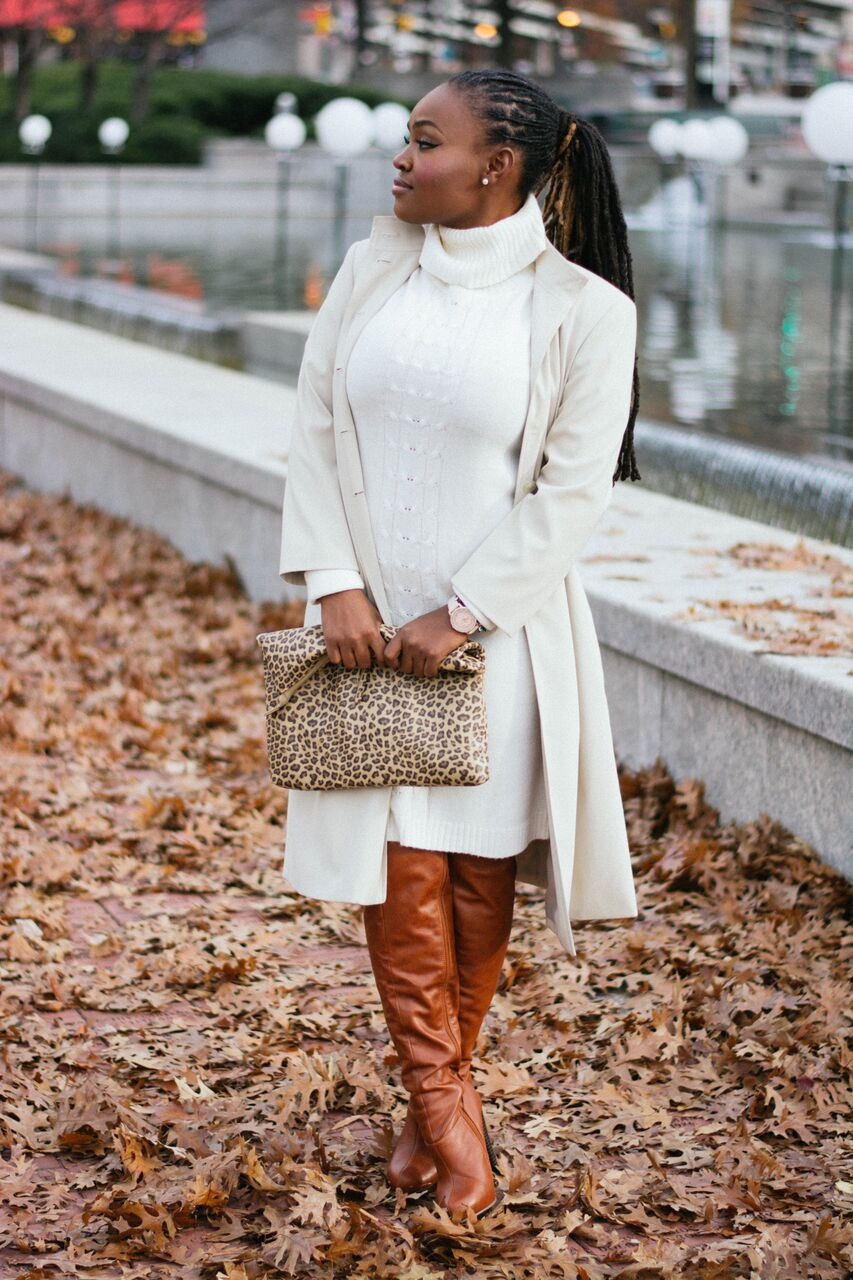 STYLE: BLOGGERS LONG WINTER COATS WITH MELODY