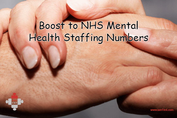 Boost to NHS Mental Health Staffing Numbers