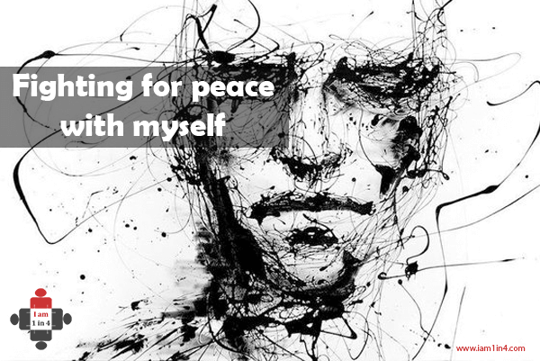 Fighting for peace with myself