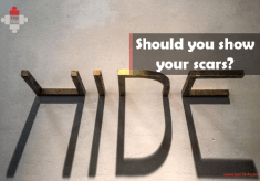 Should you show your scars?
