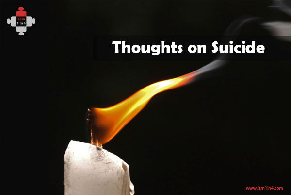 Thoughts on Suicide