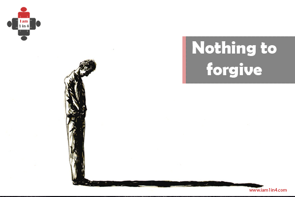 Nothing to forgive … loving the depressed. *trigger warning*