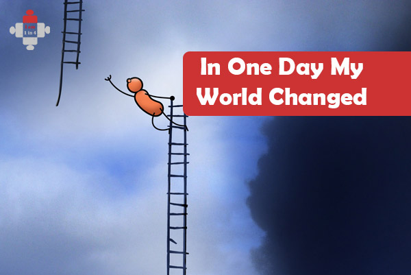In One Day My World Changed