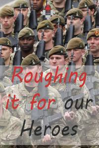 Sleeping Rough - Roughing it for our heroes