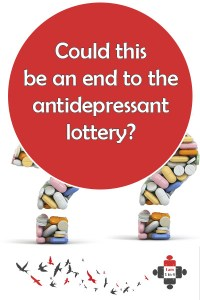 Could this be an end to the antidepressant lottery?