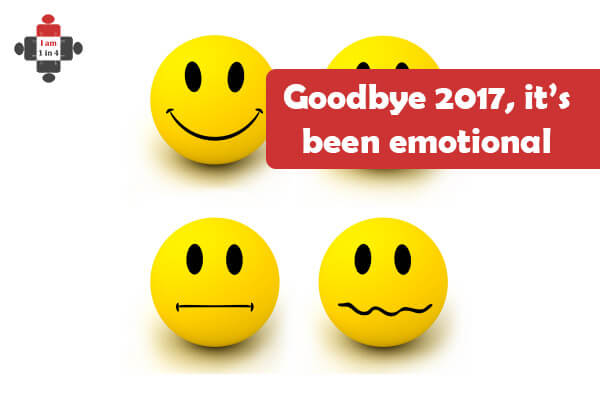 Goodbye 2017…. It's Been Emotional