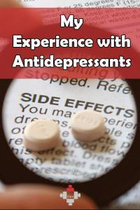 My Experience with Antidepressants