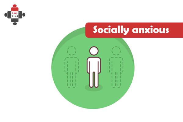 Socially anxious