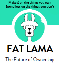 Fat lama make money from the things you own