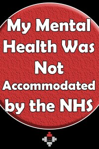 My Mental Health Was Not Accommodated by the NHS. I felt I had no option but to resign. So I did. 34 years nursing finished. If the NHS can't look after their staff what chance do the patients have?