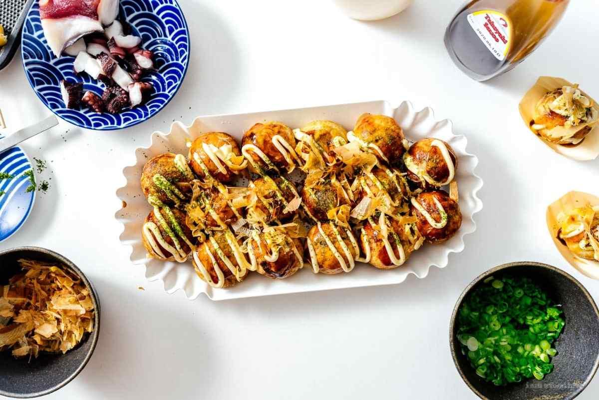 takoyaki | www.iamafoodblog.com