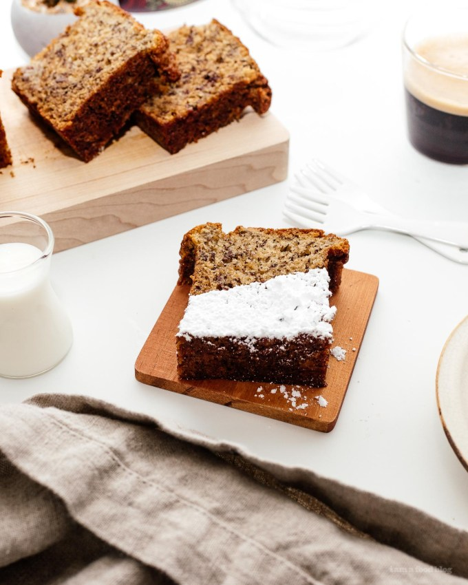 Small Batch Banana Bread Recipe | www.iamafoodblog.com