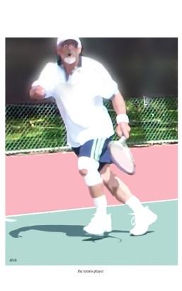 smallThe tennis player