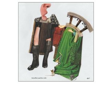 Arnolfini and his wife