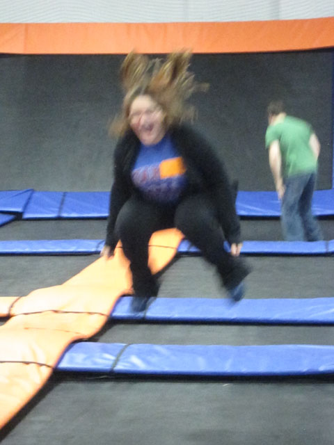 Sky Zone, will make you Jump, Jump - I am a Honey Bee