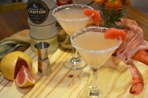 Ginger Grapefruit Martini