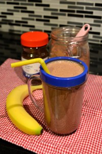 mocha magic smoothie