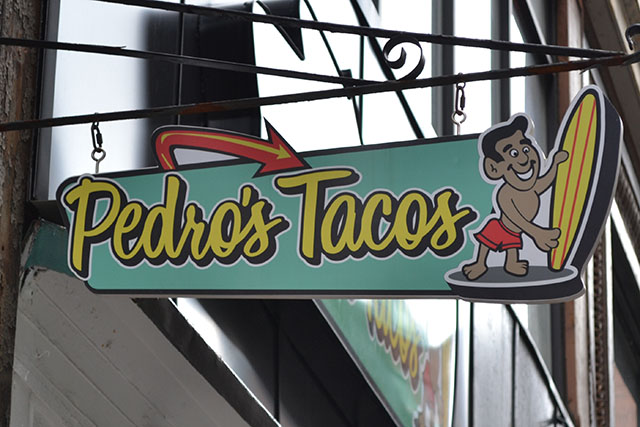 pedro's tacos_sign