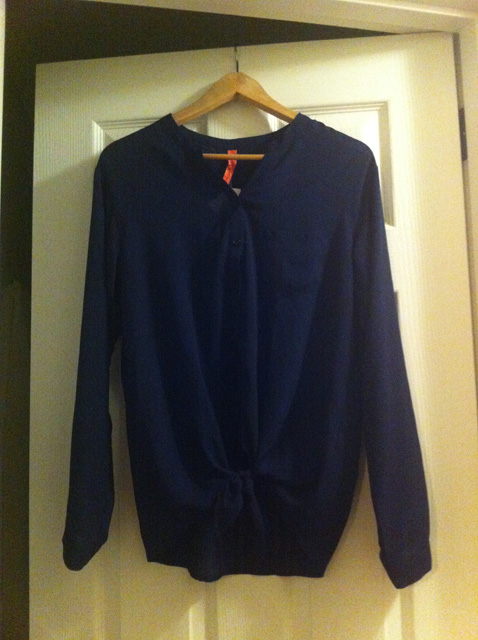 Stitch Fix_April_1- Navy Blouse