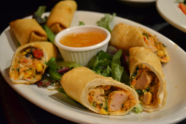 The Red Hat_Santa Fe Egg Rolls