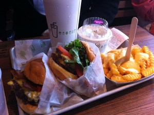 shake shack lunch