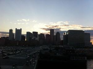 boston skyline sunset_01